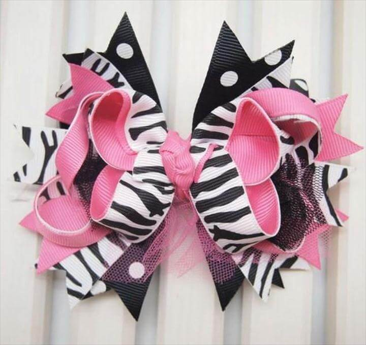 DIY Hair Bow Ideas