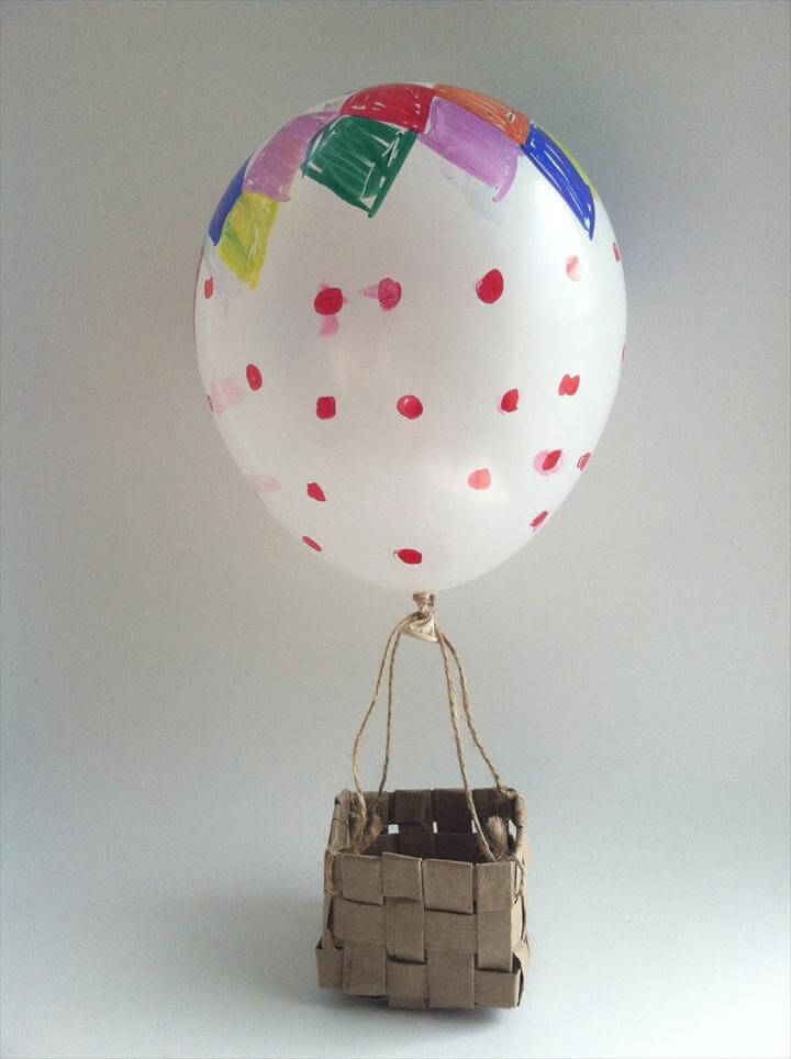 Diy Hot Air Balloon Birthday Decoration