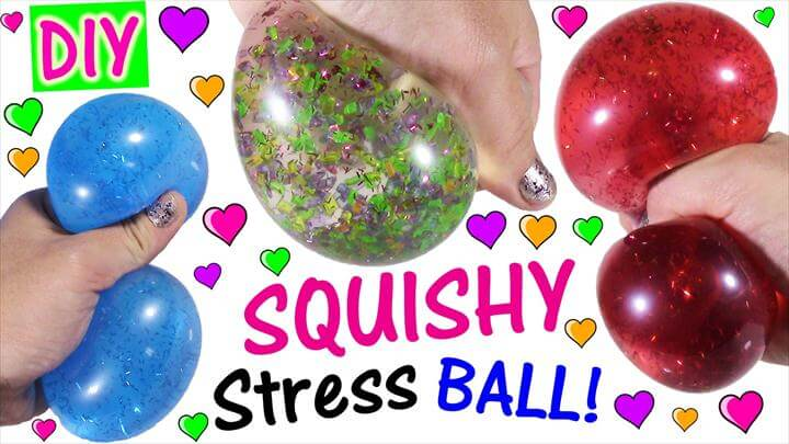 DIY Liquid Glitter Balls