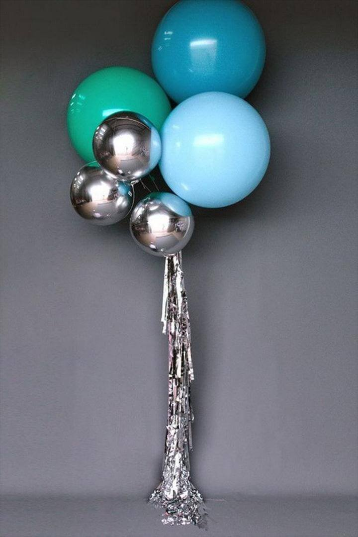Modern Party Balloons Decoration