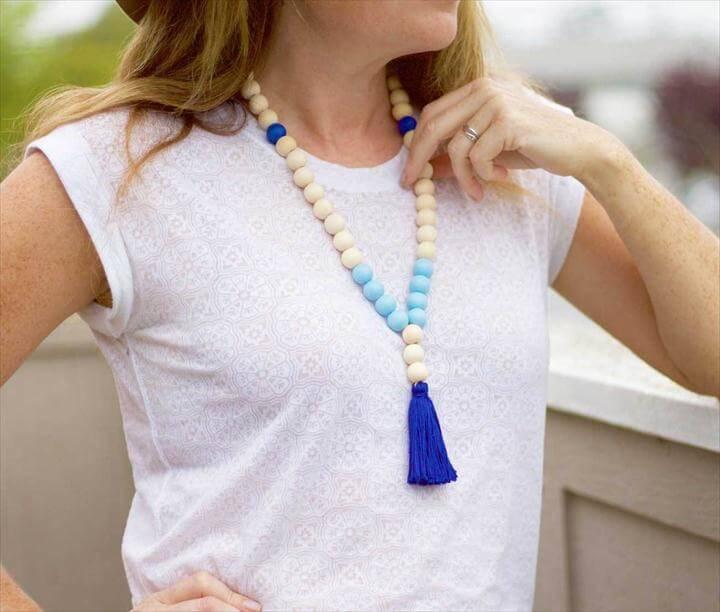 DIY Tassel Necklace