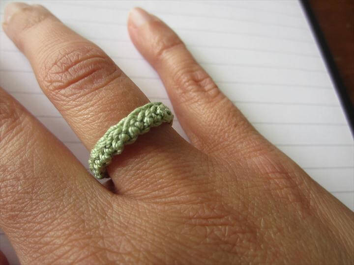 crochet ring design