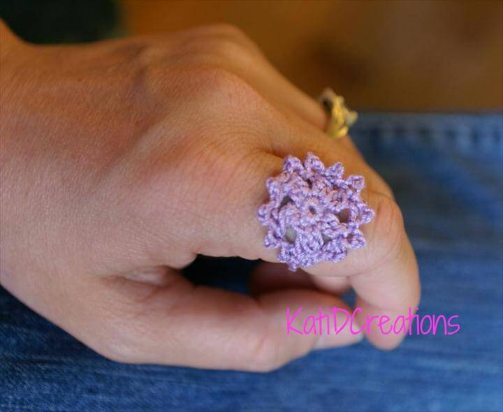 Crocheted Ring!