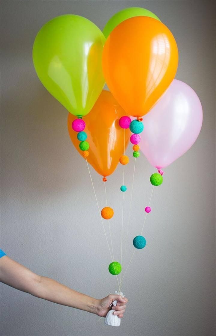A Fun Way to Decorate Balloons!