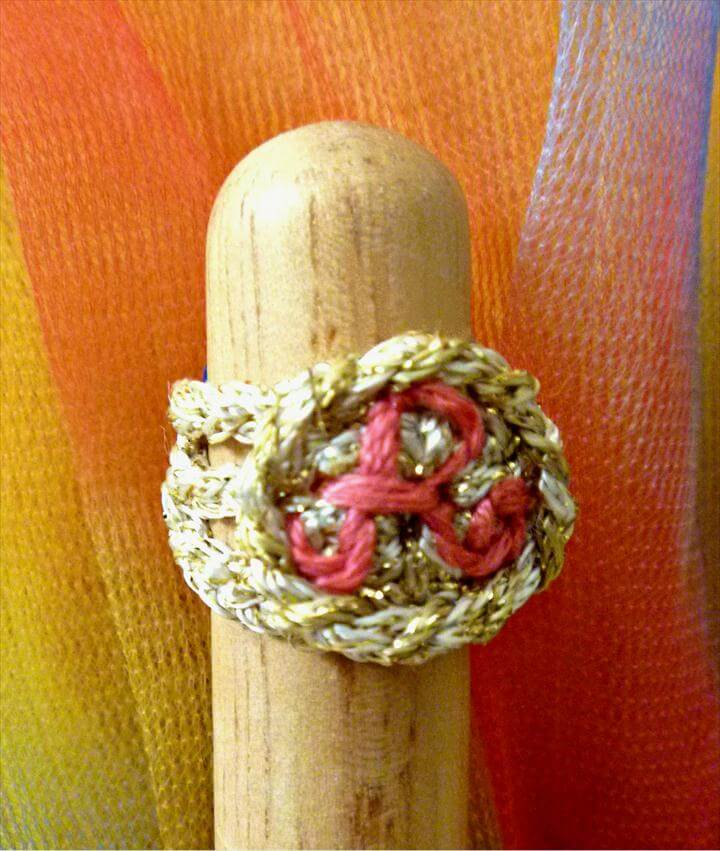 Crochet a Signet Ring!