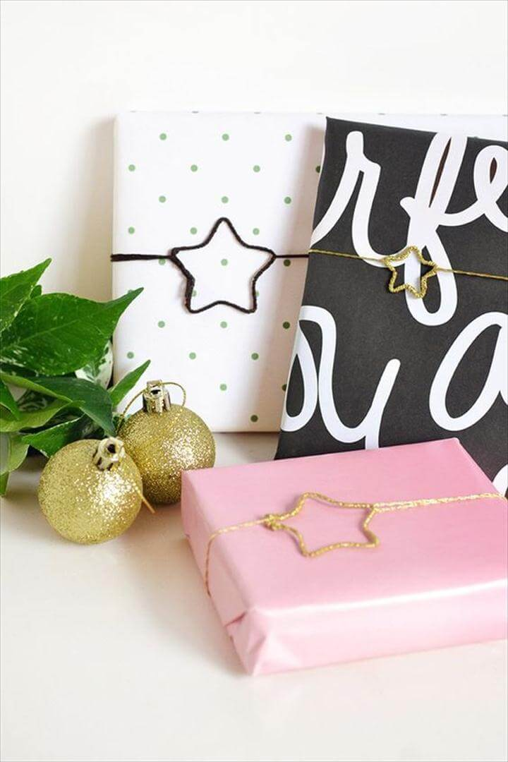 The BEST DIY Gift Toppers – Pretty and Easy Handmade Gift Wrapping Ideas for Christmas, Birthdays, Holidays or presents for any special occasion!