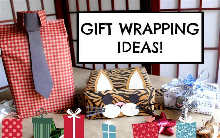 DIY GIFT WRAPPING IDEAS EASY, CUTE & CREATIVE!