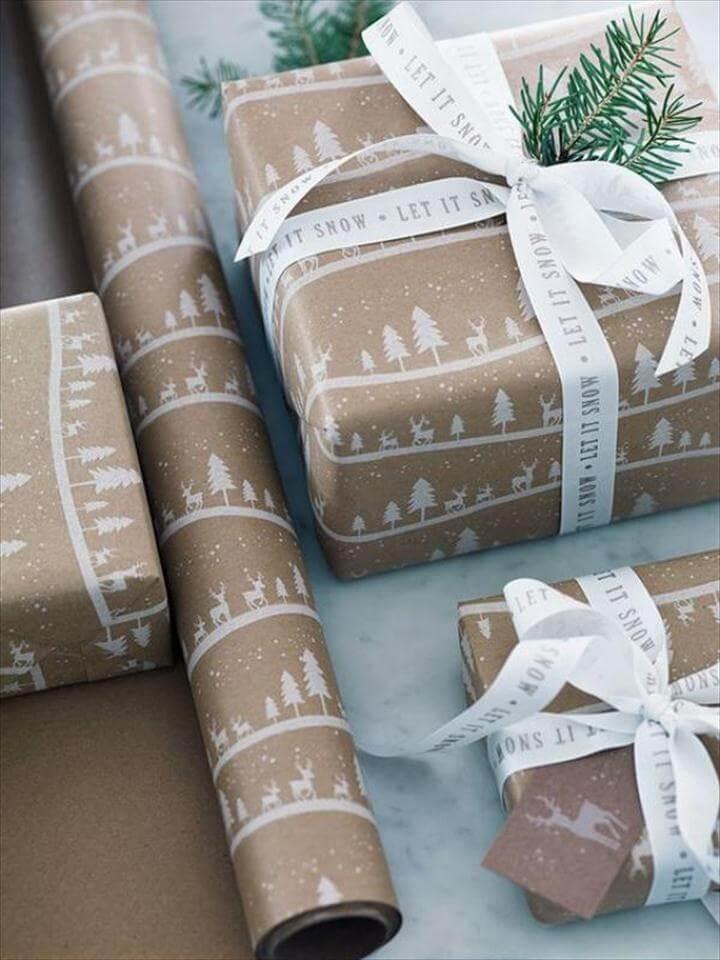 Gift wrapping ideas DIY Diy cool