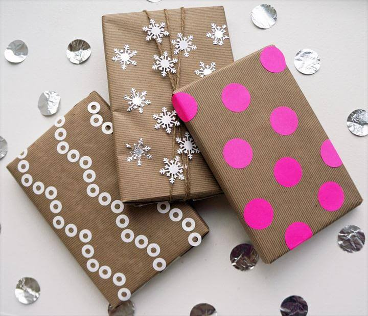 Beautiful Ways to Gift Wrap With Kraft Paper