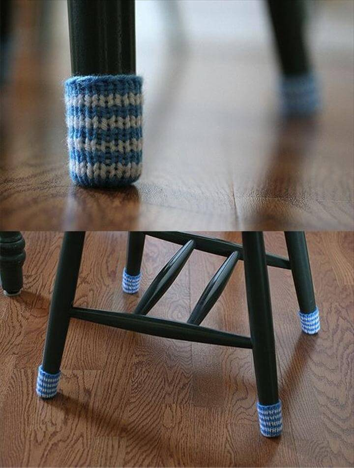Chair socks,Floor protector,Gray,Table legs cover,Chair leg socks,Chairs accessories,Wool,Home decor,Eco-friendly gift