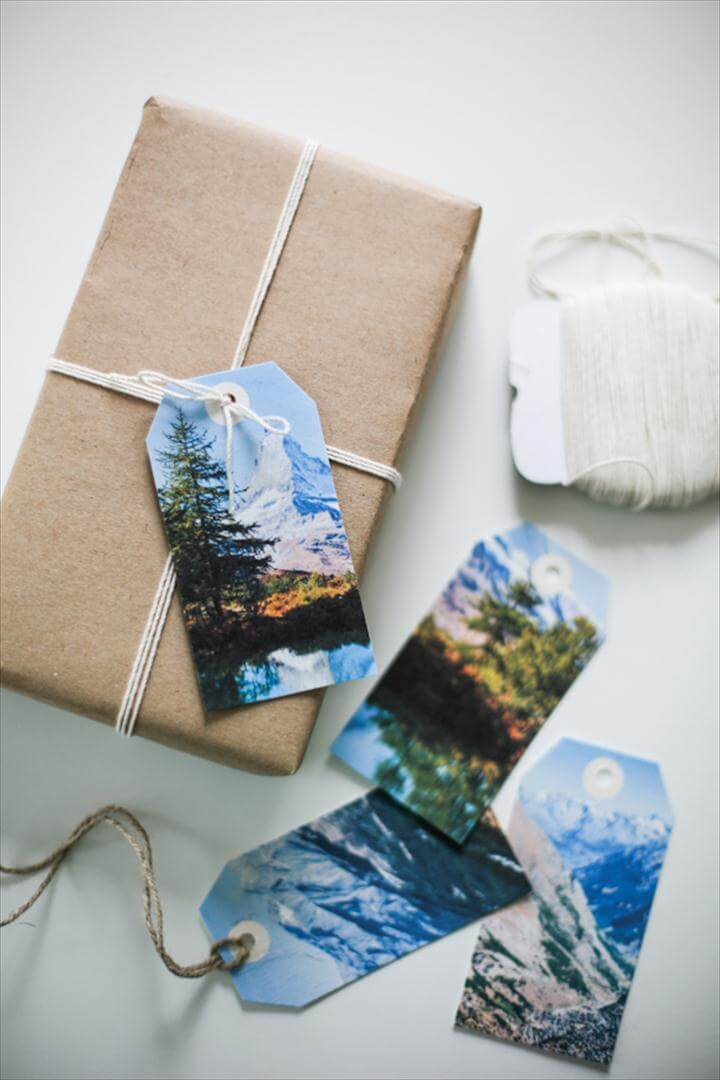 Customize your gift tags