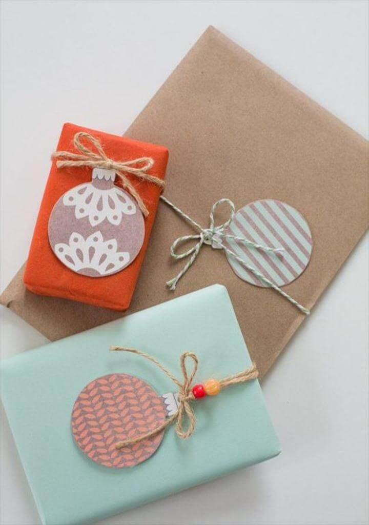DIY Gift Wrapping Ideas!
