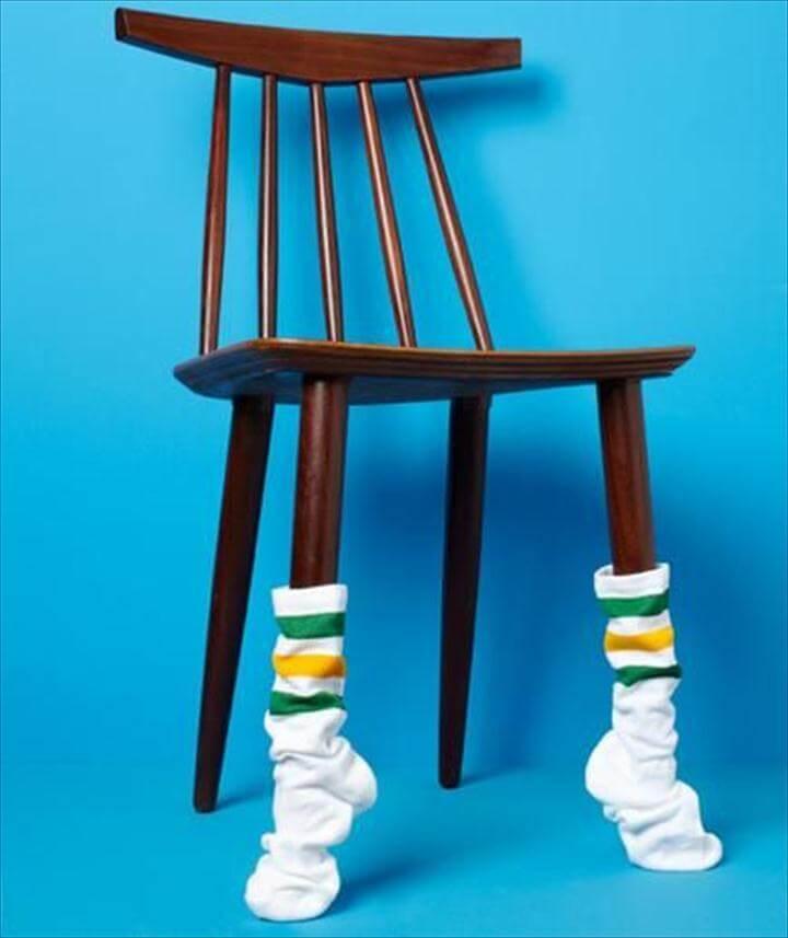 diy socks leg protector
