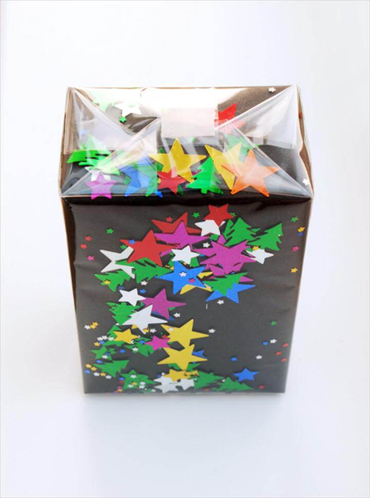 Confetti wrap