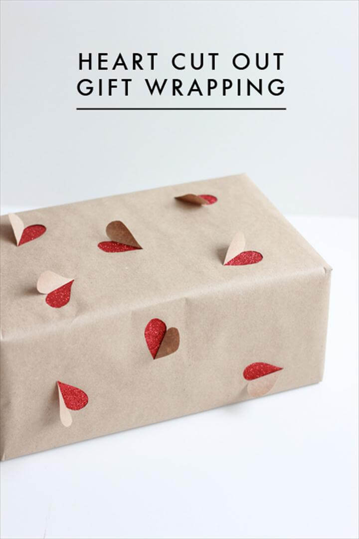DIY Valentine Wrapping Ideas