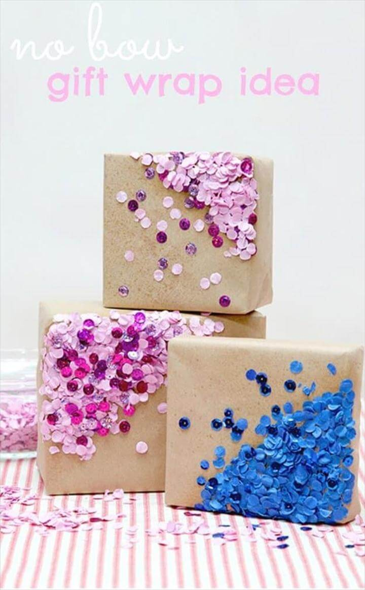 No Bow, DIY Gift Wrapping Ideas, Exciting Gift Wrapping Ideas this Holiday Season