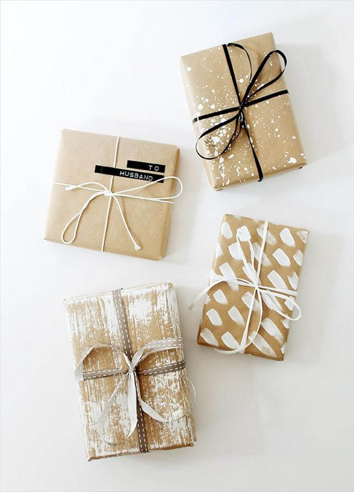 60 Do It Yourself Gift Wrapping Ideas You Ll Love