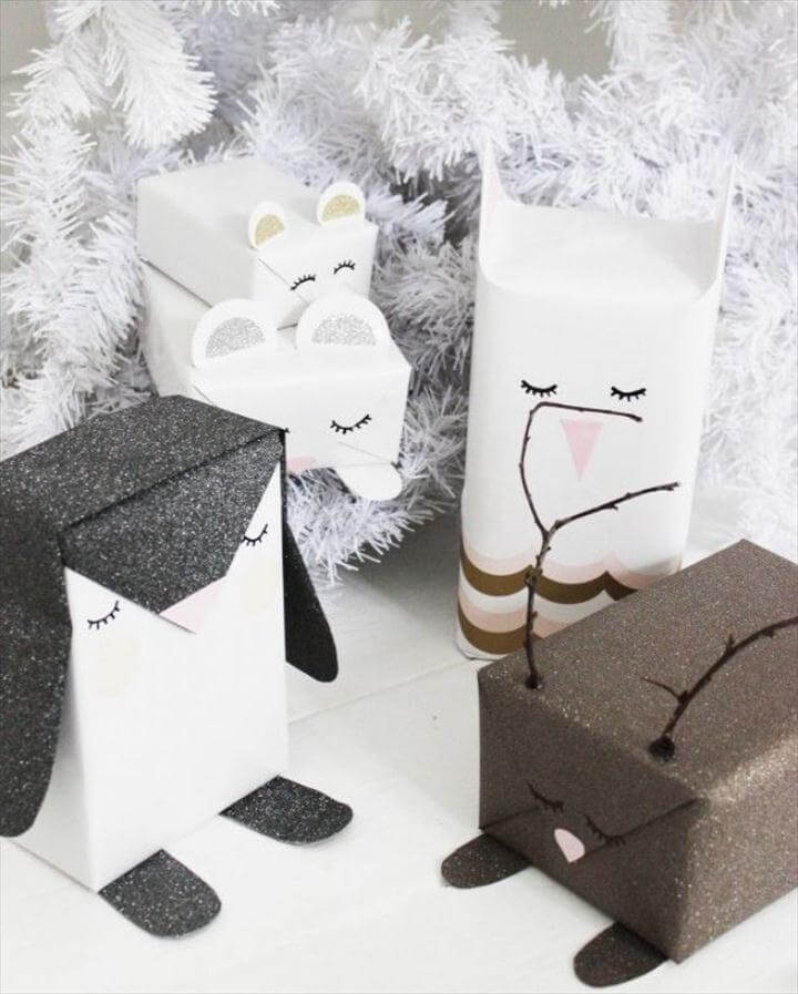 cutest animal gift wrap