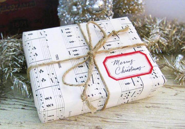 DIY Christmas Gift-Wrapping Ideas