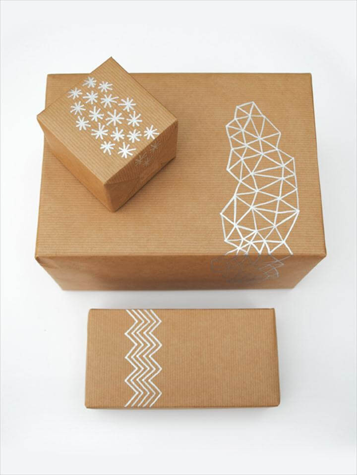 Quick & Easy DIY Gift Wrapping Ideas