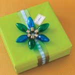 Christmas Lights gift wrap