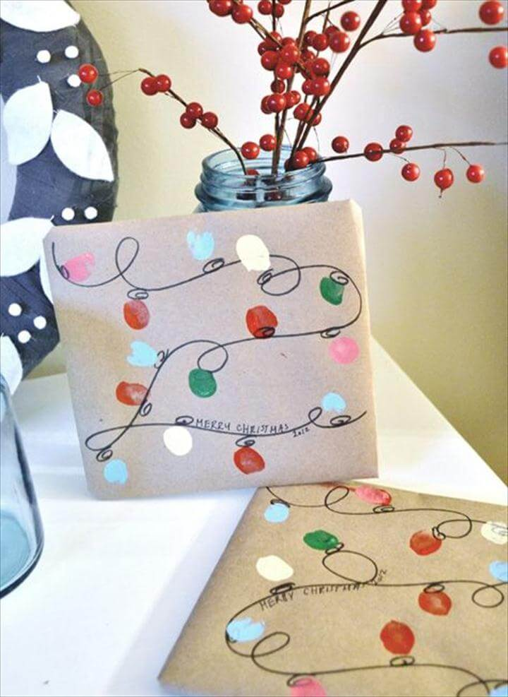 Last-Minute DIY Gift Wrapping Ideas