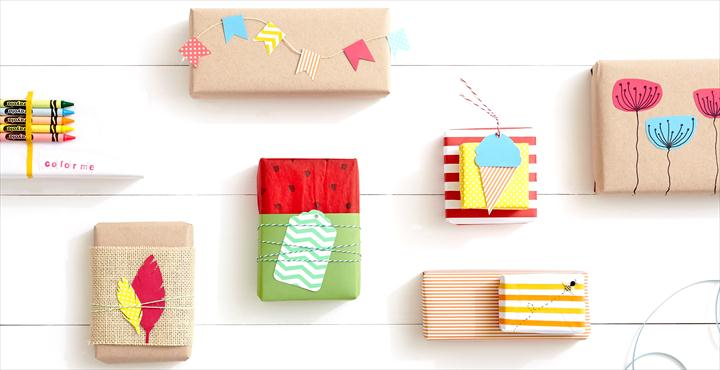 DIY: 5 Summer Gift Wraps