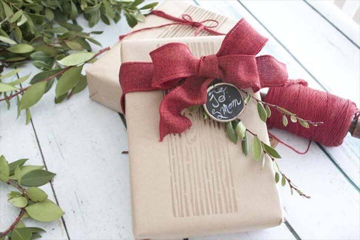 Deco Art Gift Wrap Ideas