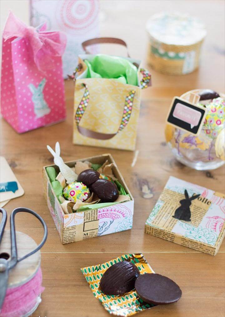 DIY Easter Gift Wrapping Ideas