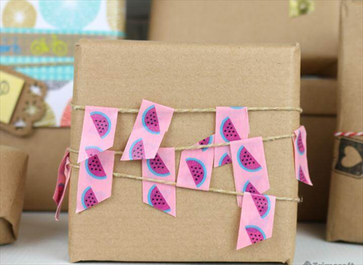 DIY Handmade Gift Wrapping Paper Ideas & Tutorials