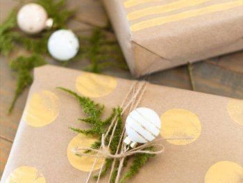 Easy DIY Gift Wrap Ideas for Christmas or any Holiday + The ONE Item You Don