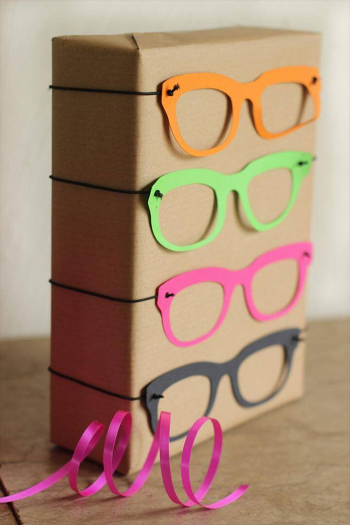 Eye Glasses Gift Wrap from Growing Spaces