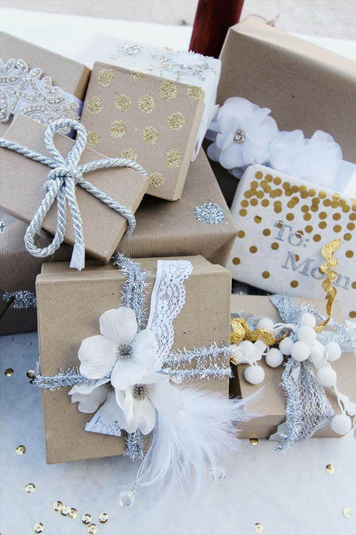 Gorgeous Gift Wrapping Idea