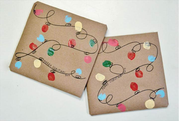 diy gift wrapping design