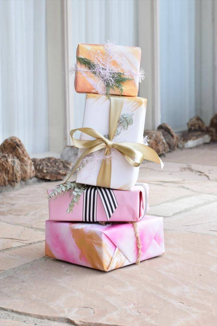 diy gift wrap ideas for the holiday art in the find