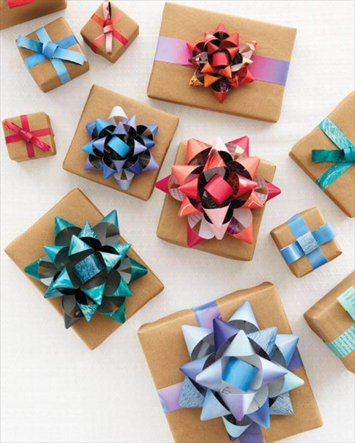 DIY Gift Wrapping Idea