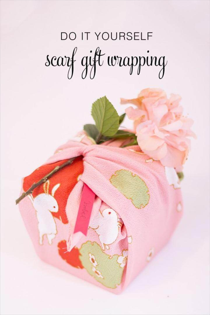 Unique DIY Gift Wrapping Ideas