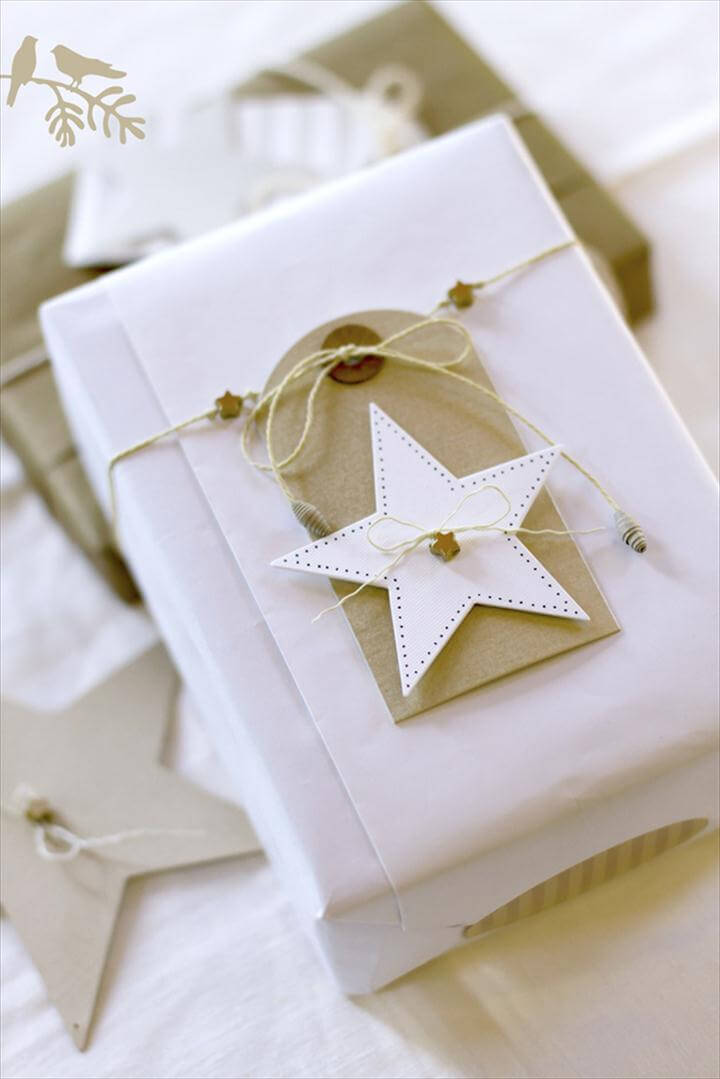 Secret santa DIY presents and gift wrapping ideas