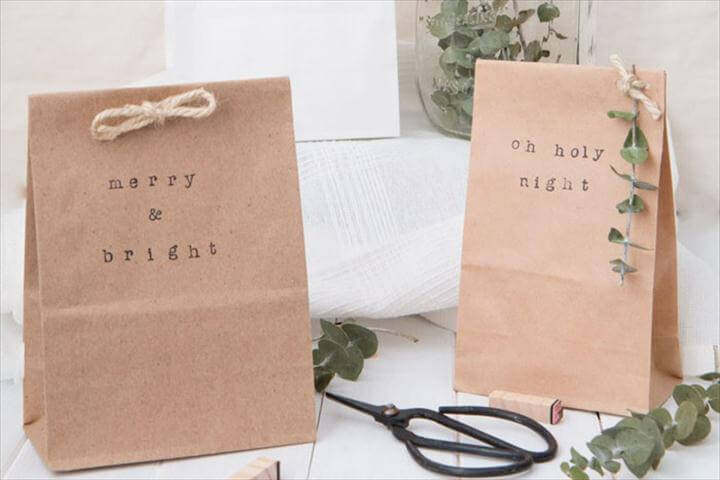 Cute (and Easy) DIY Gift Wrapping Ideas