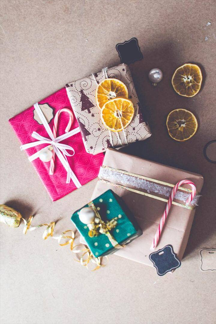 DIY Wrapping Ideas - Simple + Quick!