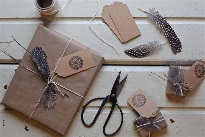 Useful yet Unique DIY Gift Wrapping Tutorials