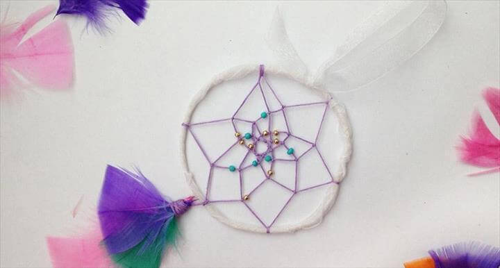 dreamcatcher with this simple tutorial