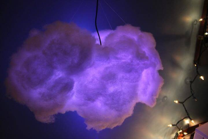 Remote Controlled Color Changing Cloud