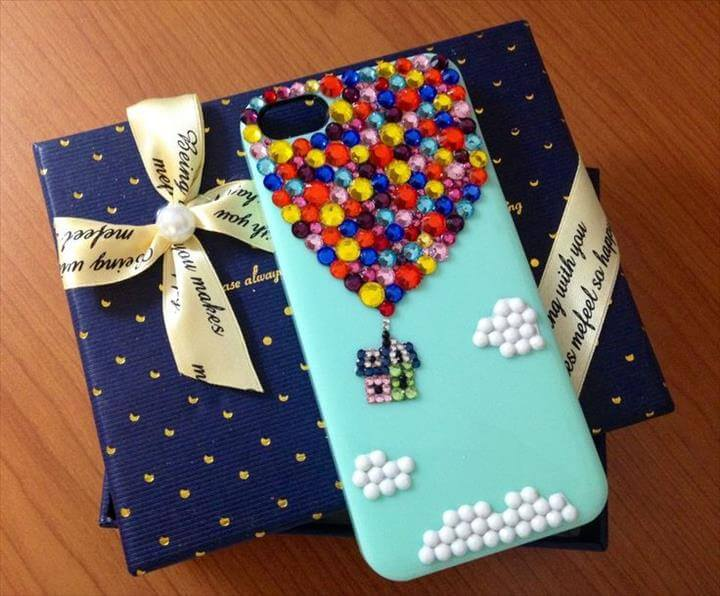 Up DIY iPhone Case Disney-cute,