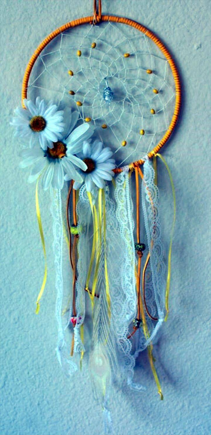 DIY Beautiful and Unique Dream Catcher Idea