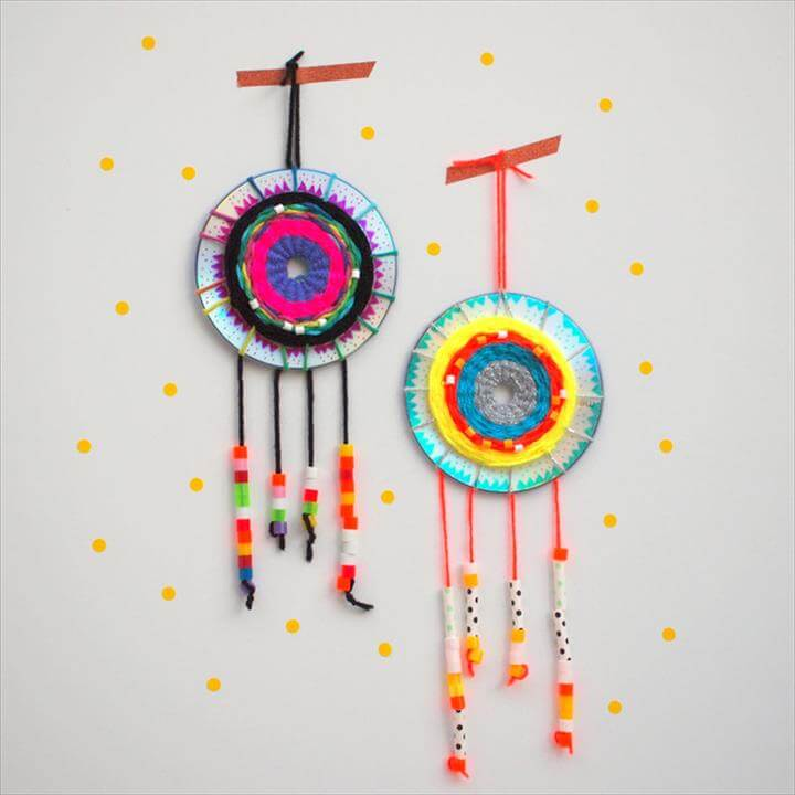 CD dream catcher