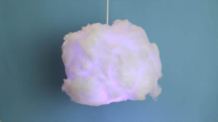 DIY Cloud Lamp