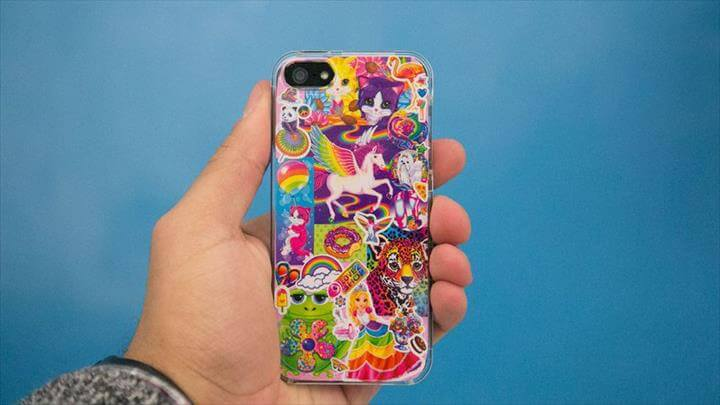 diy colorful iPhone case, cover