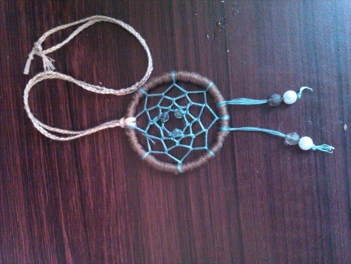 Dream Catcher Necklace, Dream Catcher Pendant