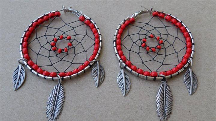 Exotic Dream Catcher Earrings - DIY Style Tutorial - Guidecentral